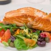 Cuore di salmone alla griglia