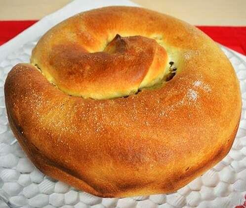Italian Christmas Cake.Italian Christmas Cake Recipe The Gubana
