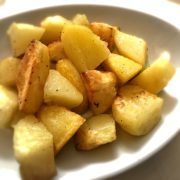 Patate rosolate al forno